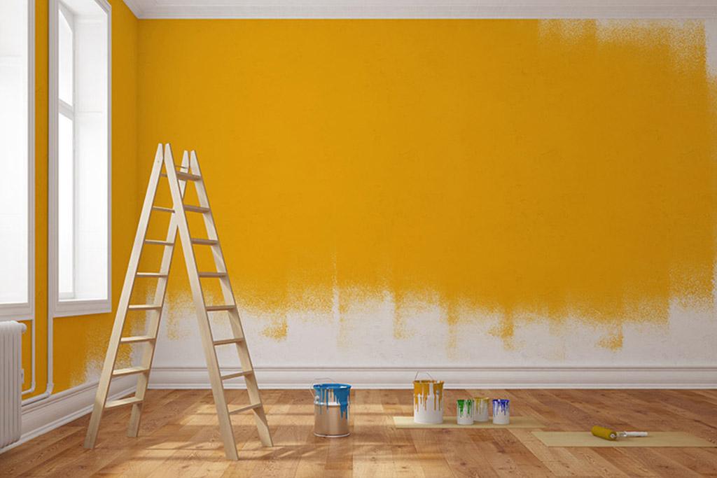 Malerei in Wien- mit neuer Farbe zu einem neuen Wohngefühl